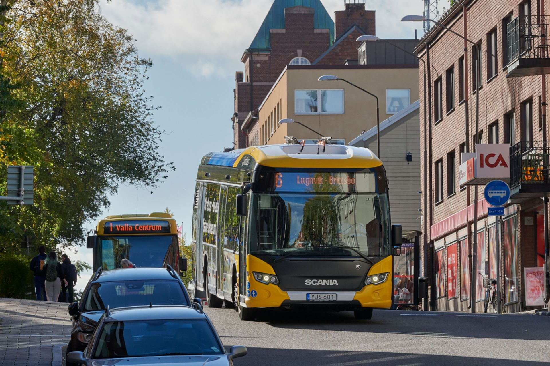 Buses are an important piece of the puzzle in electrifying the entire transport sector in Östersund.