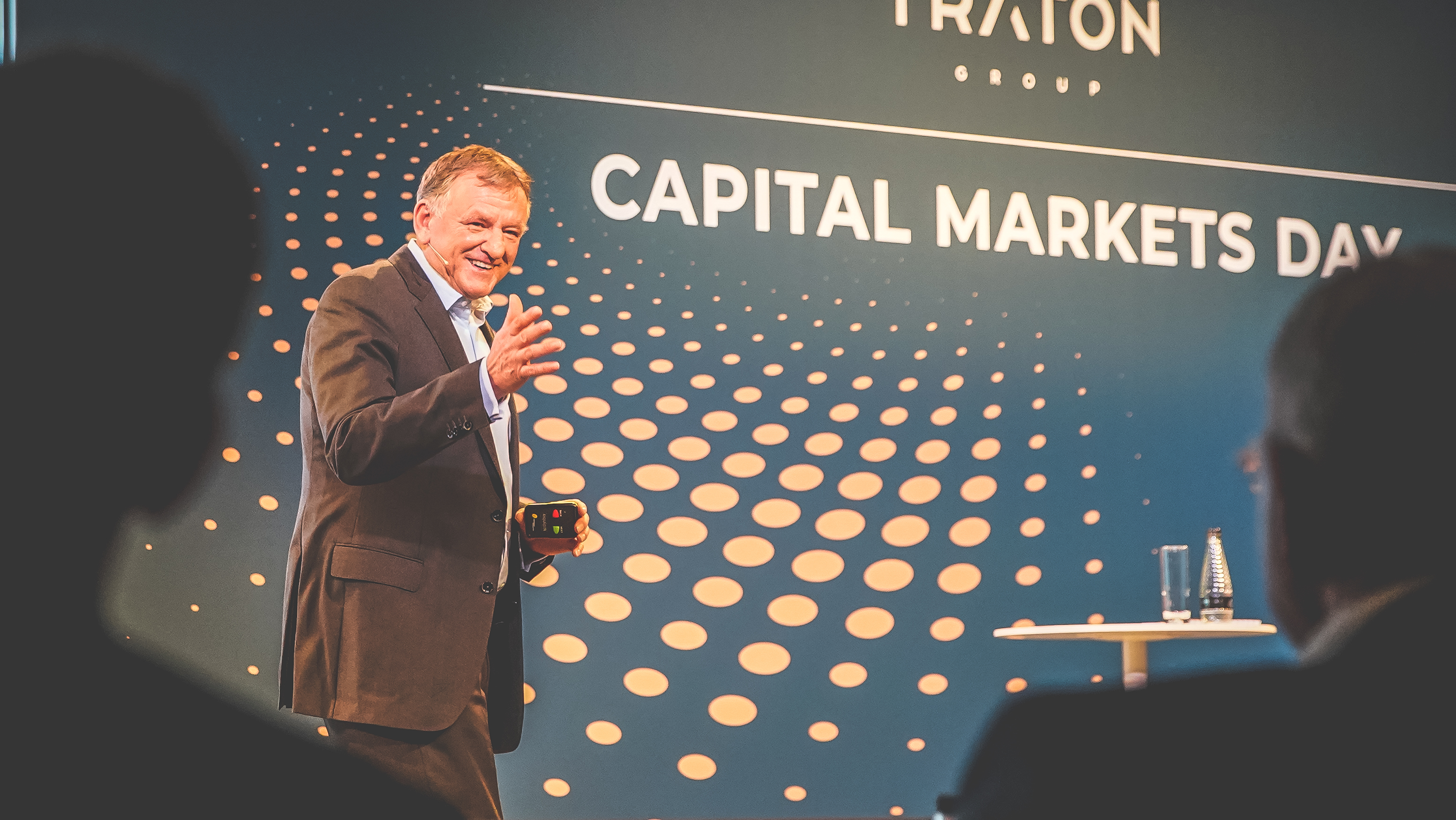 Andreas Renschler at the Capital Markets Day in London.